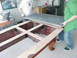 Pool table moves in Bangor Maine