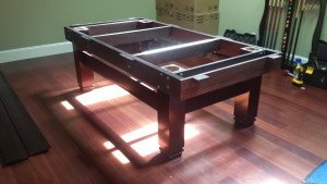 Correctly performing pool table installations, Bangor Maine